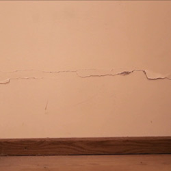 Cracks in external or internal walls (after)